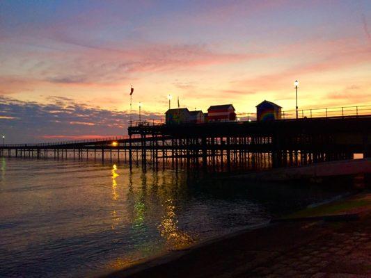 Gleneagles Lynn Tait Image 4: Pier sunset