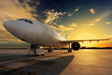 Southend Airport plane