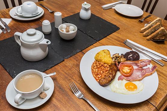 Gleneagles breakfast