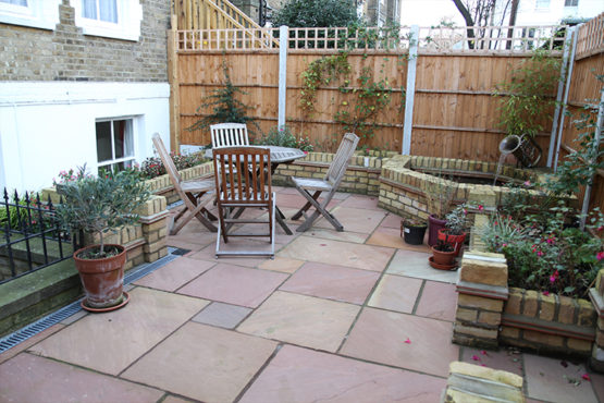 Gleneagles patio / private garden area