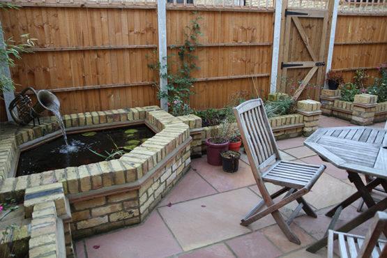 Gleneagles patio / private garden